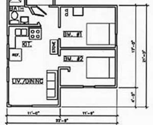 Cabin 1 Floorplan