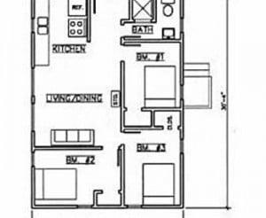 Cabin #7 floorplan